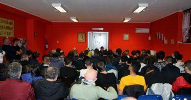 Una riunione parlando di giustizia sportiva 1