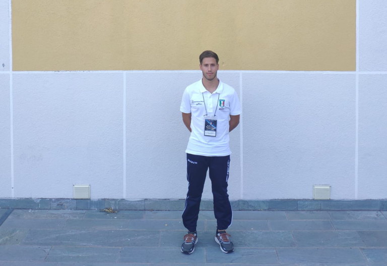 Andrea Bortolussi a Sportilia per l'incontro tra i referenti atletici