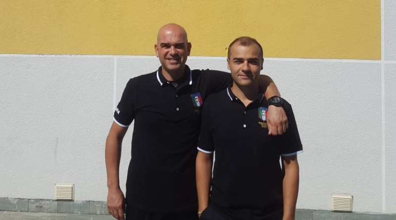 Vincenzo Cammarano e Stefano Pasquino al raduno di inizio anno
