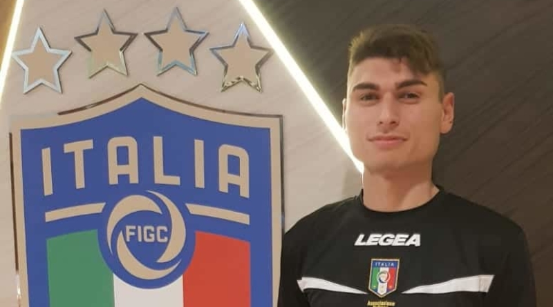 Mattia Gallo al raduno assistenti talent a Coverciano