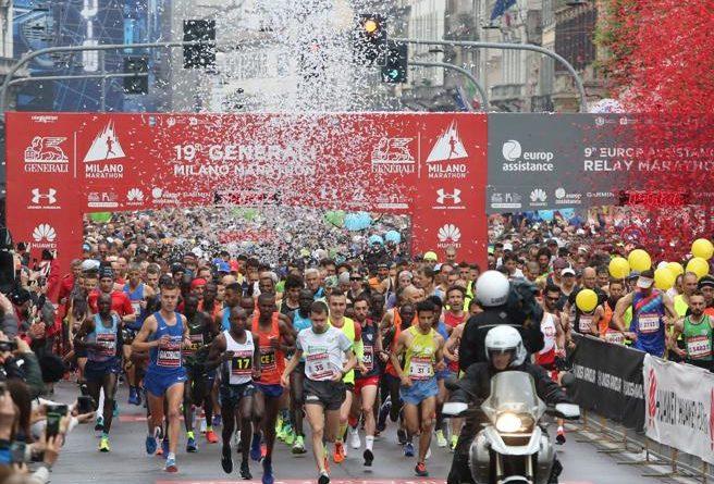 """RefereeRUN, la """"staffetta solidale"""" alla Milano Marathon 1"""